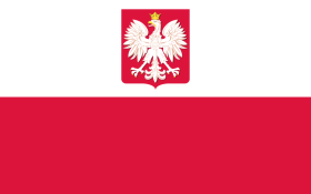 Flag of Poland (image from By Denelson83, Mareklug, Wanted [Public domain or Public domain], via Wikimedia Commons)