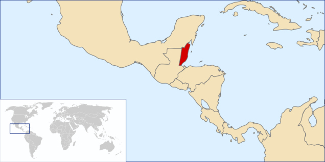 Belize(image by Rei-artur via Wikimedia Commons)