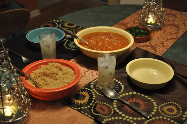A Mali Dinner(image by The Global Reader)