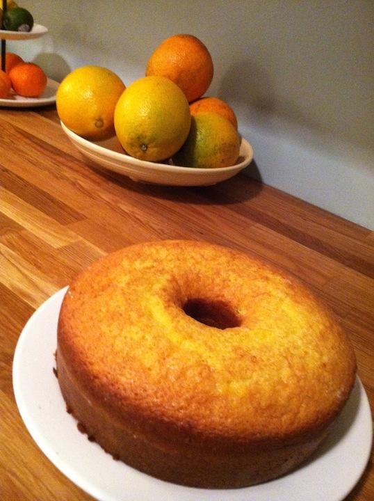 Belize Rum Cake