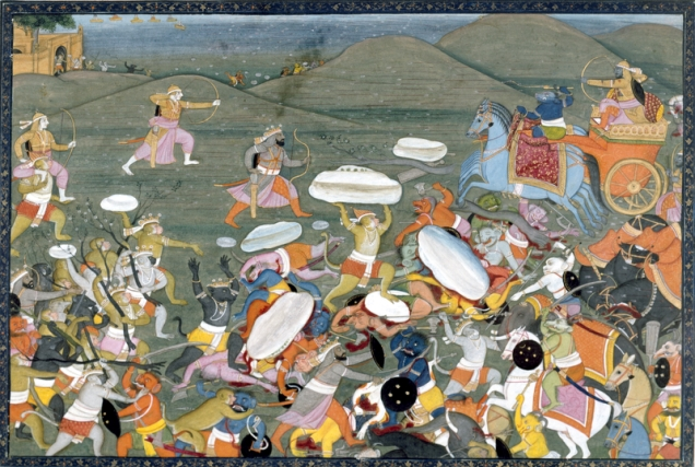 Lakshamana fights Indrajit