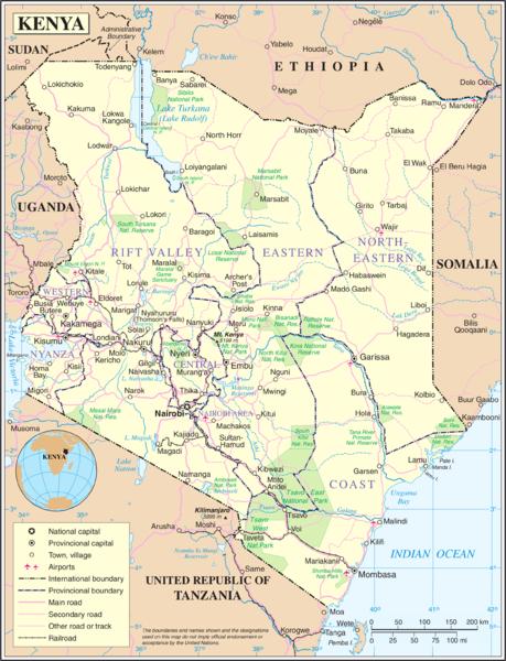 Detail of Kenya