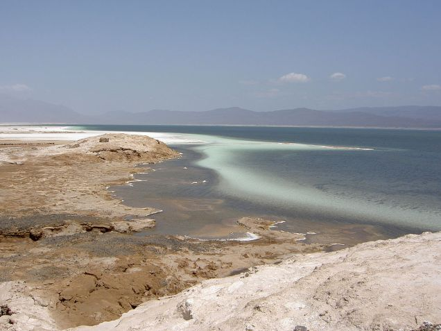 Lake Assal, Djibouti
