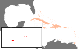 Location of the Cayman Islands