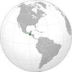 Location of Guatemala