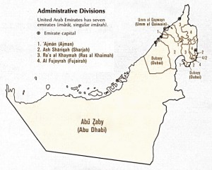Administrative Divisions of the UAE