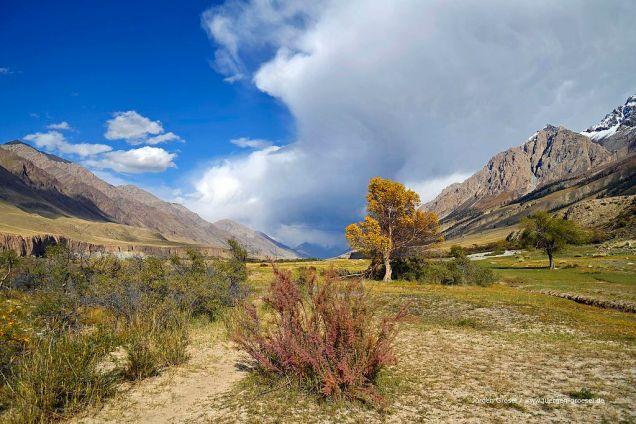 Bei Inylchek, Tian Shan Mountains, Kyrgyzstan