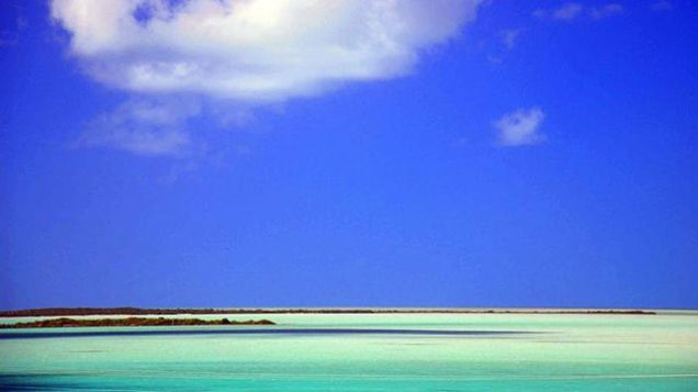 Shore of North Caicos