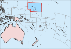 Location of The Marshall Islands